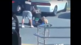 Andre Ferguson Proves He's Got Fighting Chops in Parking Lot Brawl thumbnail