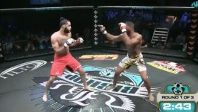MMA Fighter Gruesomely Snap His Leg During Bout thumbnail
