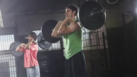 front squat with barbell thumbnail