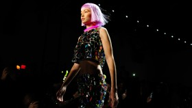 Gigi Hadid Walking the Jeremy Scott NYFW 2018 Show thumbnail