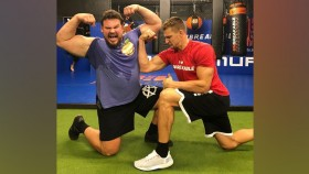 World's Strongest Man Winner Martins Licis Overhead Squats Gronk thumbnail