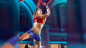 Watch Stuntwoman Destroy This Ninja Warrior Track  thumbnail