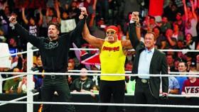 Hulk Hogan, Arnold Schwarzenegger at Wrestlemania thumbnail
