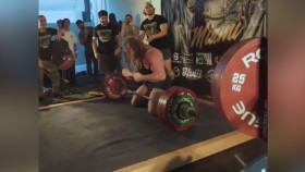 Jujimufu Crushes 666-pound Deadlift, Celebrates With Backflip thumbnail