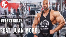 Juan Morel's Tips for a Bigger Back | #FlexFriday Video Thumbnail