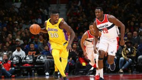Julius Randle #30 of the Los Angeles Lakers thumbnail