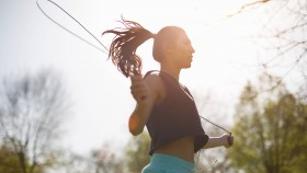 Woman Jumping Rope thumbnail
