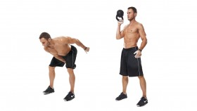 Man Performing Kettlebell Exercise thumbnail