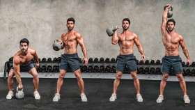 Kettlebell Clean and Press Exercise thumbnail