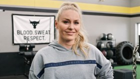 """Lindsey Vonn Joins """"The Rock's"""" Project Rock Team  thumbnail"""