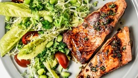 Salmon and Salad thumbnail