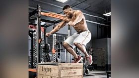 Man Doing a Box Jump thumbnail