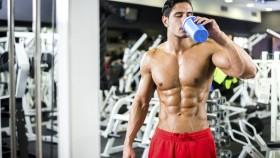 man drinking protein shake thumbnail
