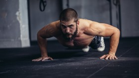 Man Doing a Pushup thumbnail