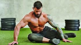 Man Stretching at the Gym  thumbnail