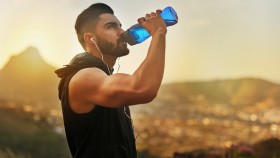 Man Drinking Water thumbnail