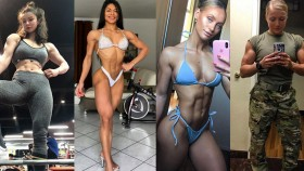 13 of the Most Jacked Women on Instagram thumbnail