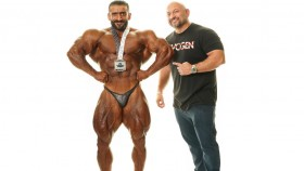 Olympia Working to Bring Iranian Bodybuilding Sensation to U.S. thumbnail