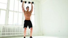 How to Do Dumbbell Cleans  thumbnail