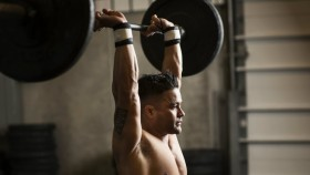 Overhead shoulder press thumbnail
