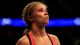 Paige VanZant Following Her Win Against Felice Herrig on April 18, 2015 thumbnail