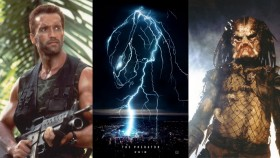 Predator Arnold Schwarzenegger and New Shane Black Movie thumbnail