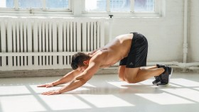 Man Doing Reverse Pushup thumbnail