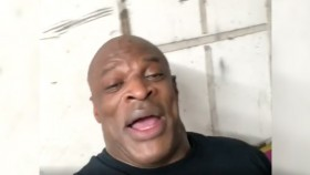 Ronnie Coleman Is Back in the Gym, But Not Lifting Just Yet thumbnail