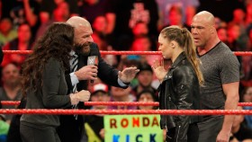 Ronda Rousey and Kurt Angle to Take on Triple H and Stephanie McMahon thumbnail