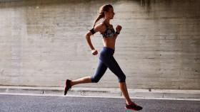 Woman Running Outside thumbnail