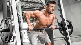 smith machine bentover row thumbnail