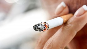 Woman Smoking Cigarette thumbnail