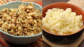 What's Healthier: Stuffing vs. Mashed Potatoes thumbnail