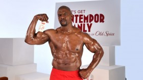 Terry Crews Celebrates Old Spice's 80th Anniversary on April 9, 2018 in New York City.  Video Thumbnail