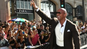 "Dwayne ""The Rock"" Johnson at the 'Hobbs & Shaw' Premiere thumbnail"