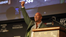 The Rock at UFC 244 Weigh-Ins, Madison Square Garden thumbnail