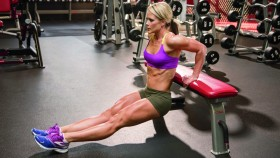 Woman Bodyweight Dip thumbnail