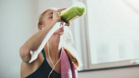 Woman Drinking Smoothie thumbnail