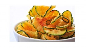 bowl of zucchini chips Video Thumbnail