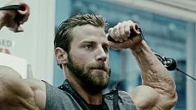 Trainer Tim McComsey demonstrates the Men's Fitness Winter Bulk-up workout plan. thumbnail