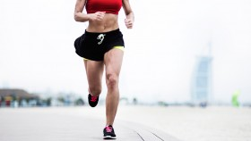 Woman Running Outside thumbnail
