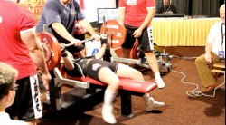 Teen Girl Benches 300 Pounds! Video Thumbnail