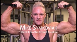 Mike Symkoviak Trains 1 Week Before the Arnold Amateur Video Thumbnail