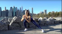 Brittany Smith demonstrates Do-Anywhere Bodyweight Program: Day 2 Legs  Video Thumbnail
