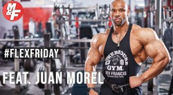 Juan Morel's Tips for a Bigger Back | #FlexFriday Video Thumbnail
