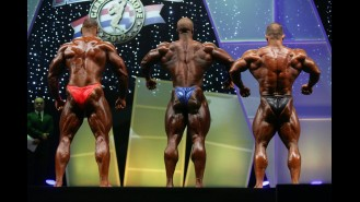Men Pre-Judging Comparisons - 2012 Arnold Europe Gallery Thumbnail
