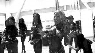 Backstage Video: '13 Olympia Pre-Judging Video Thumbnail