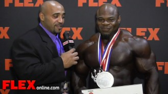 Kai Greene Reflects on the '13 Mr. Olympia Video Thumbnail