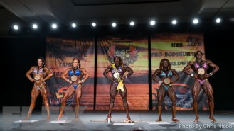 Women's Bodybuilding Final Comparisons & Awards - 2015 IFBB Tampa Pro Gallery Thumbnail