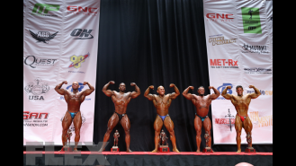 Men's Bodybuilding Middleweight Awards Gallery Thumbnail